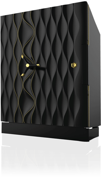 Side profile of the Kruna Nora Godrej safe